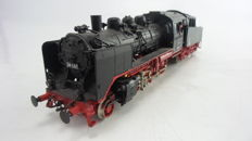 Fleischmann H0 - 4142 - Pulling tender locomotive BR 24 of the DR with custom large tender