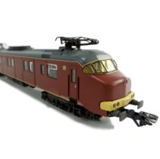 "Märklin H0 - 33891 - Motorpost train set Series Mp3000 ""PTT Post"" Brown version"