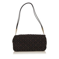 Bottega Veneta - Beaded Wool Shoulder Bag