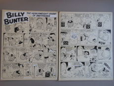Parlett, Reg - 2 Original pages - Billy Bunter - Complete gag - [1960s]