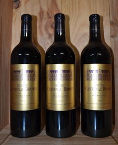 2004 Chateau Cantenac Brown, Margaux Grand Cru Classé - 3 bottles (75cl)