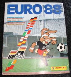 Panini - Euro 88 - West-Germany - Complete album - Dutch version.