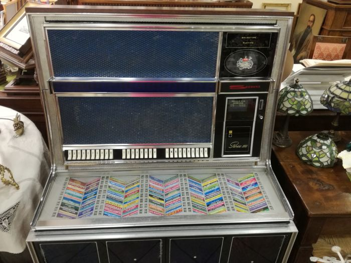 Jukebox Seeburg LS2 - Gem from 1969
