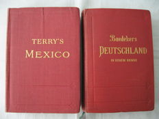 Two travel guides  1911/1913