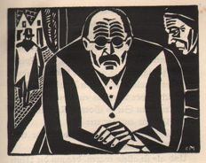 Frans Masereel (1889-1972) - Der Alte Perdrix - With 13 woodcuts - 1923
