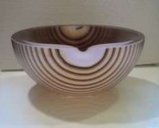 Bertil Vallien (Kosta Boda ) - Glass bowl