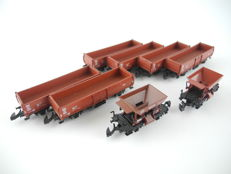 Märklin Z - 8622/8624 - 8 different freight carriages of the DB [246]