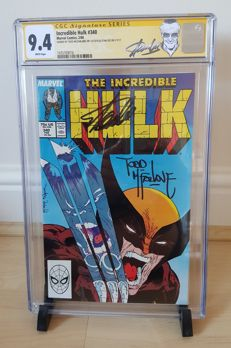 Marvel Comics – The Incredible Hulk #340 – Signed By Todd McFarlane And Stan Lee – CGC Graded 9.4 – (1988)