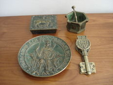 Four bronzes by Max Le Verrier (1891 / 1973)