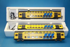 Lima H0 - 3091124K - 3-piece doubledecker train set of the NS