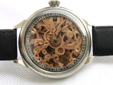 37. Doxa - men's skeleton marriage watch - between 1929 and 1930