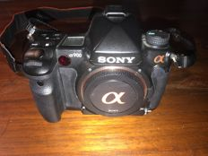Sony camera Sony A DSLR-A900 black plus three lenses, bag, etc