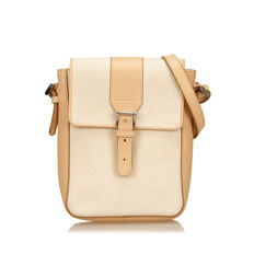 Burberry - Canvas Shoulder Bag