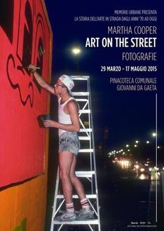 Martha Cooper - Art on the Street EXPO Poster: Keith Haring