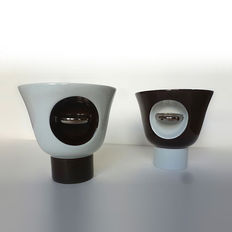 Eric Schmitt for DAUM – Pair of Tharaud bowls, 'Tokonoma' collection