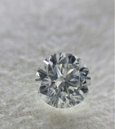 0.50ct briljant geslepen diamant D IF( Internally Flawless) low reserve