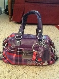 Coach Poppy Tartan Plaid Satchel Purse ***No minimum price***