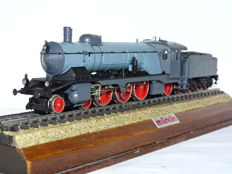 Märklin H0 - 3511 - Steam locomotive with pulled tender, Class C of the Königlich Württembergischen Staats Eisenbahnen (K.W.St.E.)