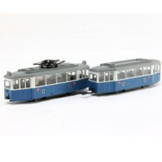 Kato N - Tram with annex