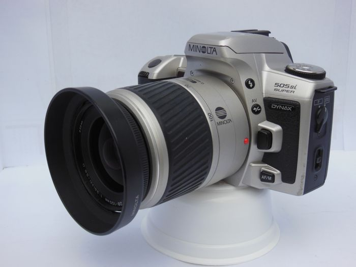 minolta dynax 505si super with af zoom lens 28 100mm 1 3 5 5 6 d rh auction catawiki com Operators Manual Instruction Manual