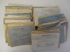 German Reich 1939-1945 lot of 207 field post letters with content (so with the written letters). Everything is shown