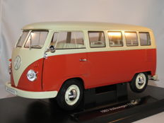 Welly - Scale 1/18 - Volkswagen T1 Microbus 1963 - Red