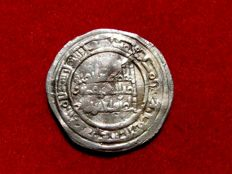Spain, Caliphate of Cordoba – Sulayman, silver dirham (3.00 g, 25 mm). Coined in the Caliphate of Cordoba, Al-Andalus (Cordoba, Spain) in the year 400 AH. (AD 1010).
