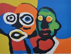 Karel Appel - Couple