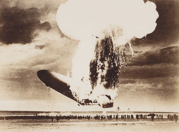 Unknown/ U.S Navy - Hindenburg disaster - 1937