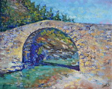 Stanislav Dyshlov called Stas - Pont romain