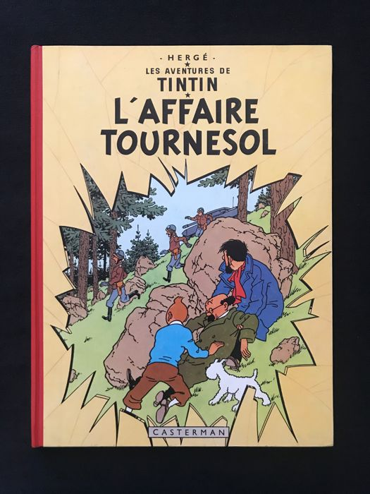 Tintin T18 - l'Affaire Tournesol - C - Ré (1963)