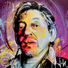Jone Hopper - Portrait of Serge Gainsbourg