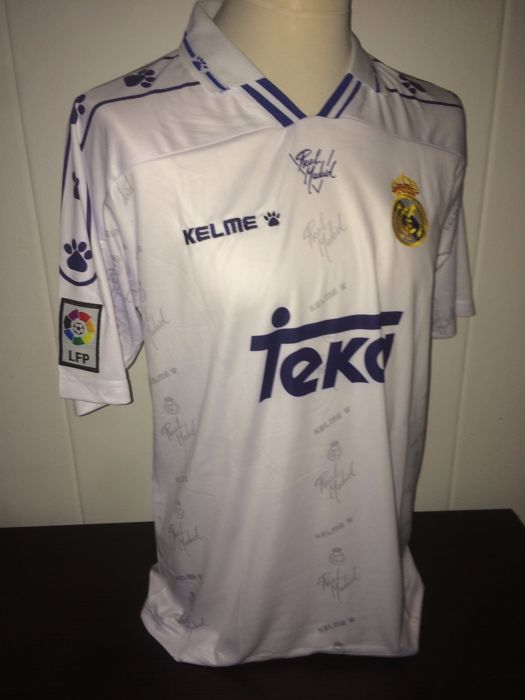 finest selection 7c9e5 aca56 Raul / Real Madrid - Home shirt 1994/1996. - Catawiki