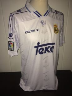 Raul / Real Madrid - Home shirt 1994/1996.