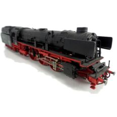 Märklin H0 - 4103 - Express train steam locomotive with modified pulled tender BR 03 of the DB