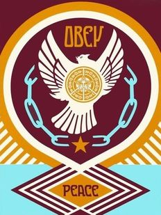 Shepard Fairey (OBEY) - Peace Series 2 (Doves) 2/3