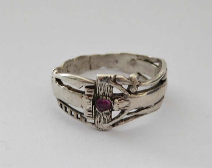 Copy of the wedding ring of Martin Luther and Katherina ...
