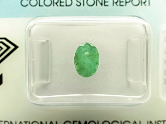 Emerald - 0,69 ct - no limit price