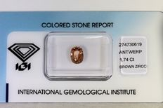 Brown Zircon – 1.74 ct