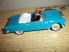 Die Cast Metal Ford 1956 Thunderbird Pedal Car