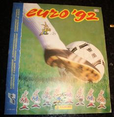 Panini - Euro 92 - Sweden - Complete album - Dutch version.
