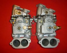 FIAT 2300 S coupe - 2 carburettors WEBER 38 DCOE with intake manifolds