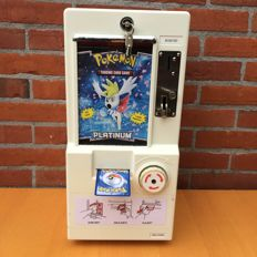 Pokémon Trading Card Dispenser. 0,50 cent euro coin machine.
