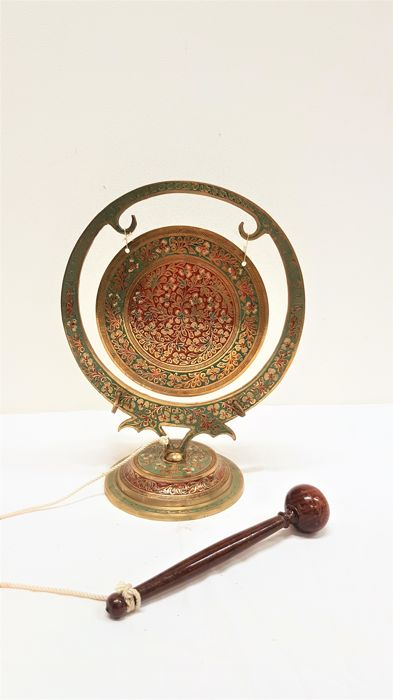 Brass Table Bell / Gong