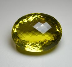 Citrine jaune - 107,50 ct