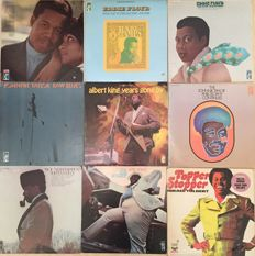 Memphis Stax Sixties Soul - lot of 9 great albums - William Bell, Eddie Floyd, Albert King, Jean Knight, Johnnie Taylor and Israel Tolbert  - (1968/1971)