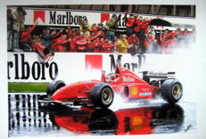 """Spanish Grand Prix 1996"" - Michael Schumachers first win for Ferrari"