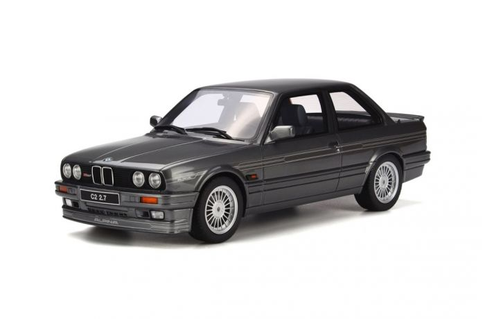 Otto Mobile - Scale 1/18 - BMW E30 Alpina C2 2.7 Coupe - Colour: Siver Grey