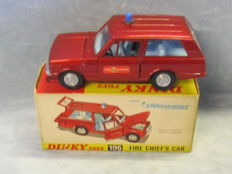 Dinky Toys - Scale 1/43 - Range Rover Fire Chief's Car No.195