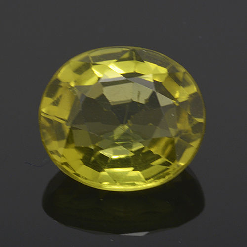 Green tourmaline (verdelite) - 1.61 ct - No Reserve Price.